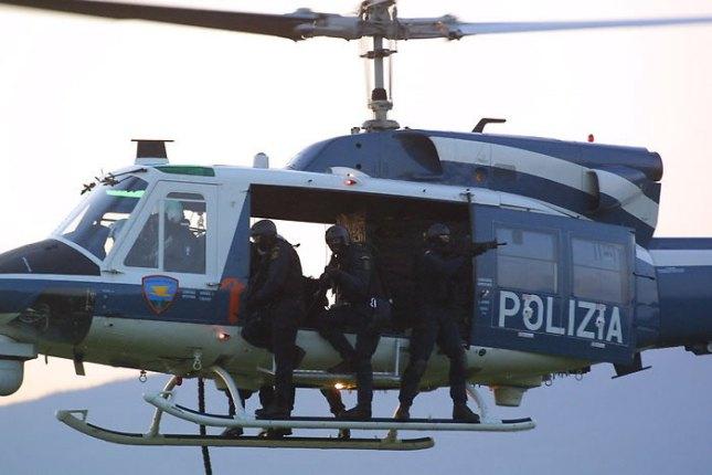 polizia volo